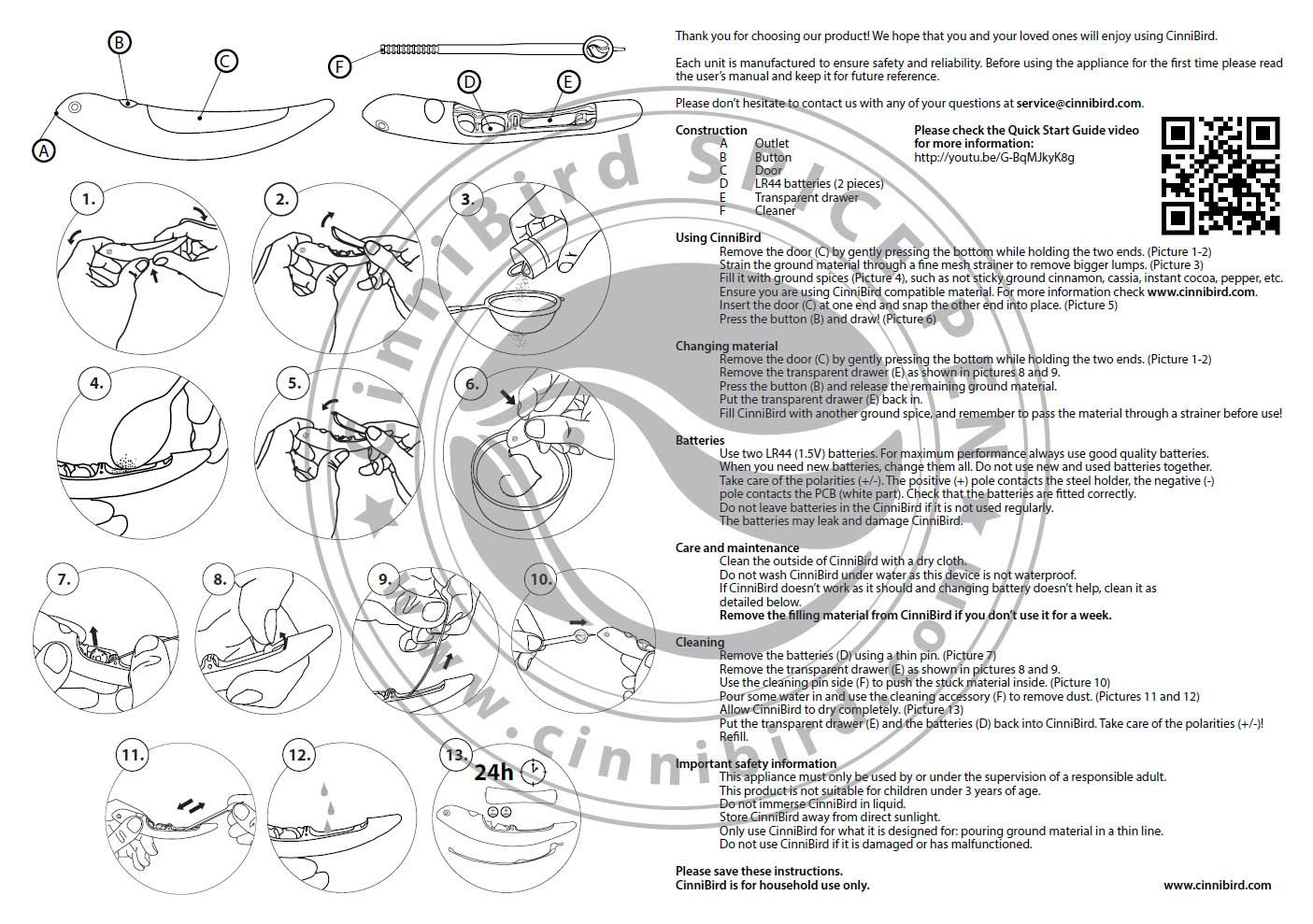 The Original Cinnibird Spice Pen Fuszertoll Official Homepage