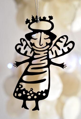 Christmas Ornament – Angel I.